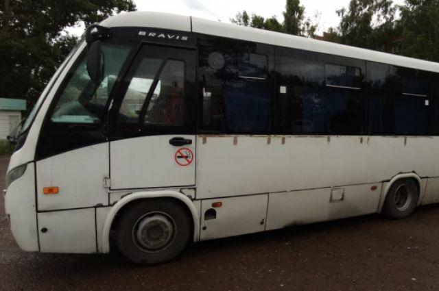Автобус ехал по маршруту Красноярск-Минусинск