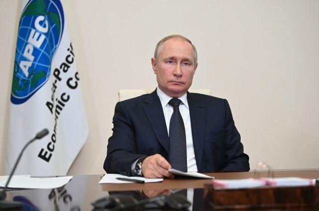 Путин заявил о восстановлении российской экономики после пандемии