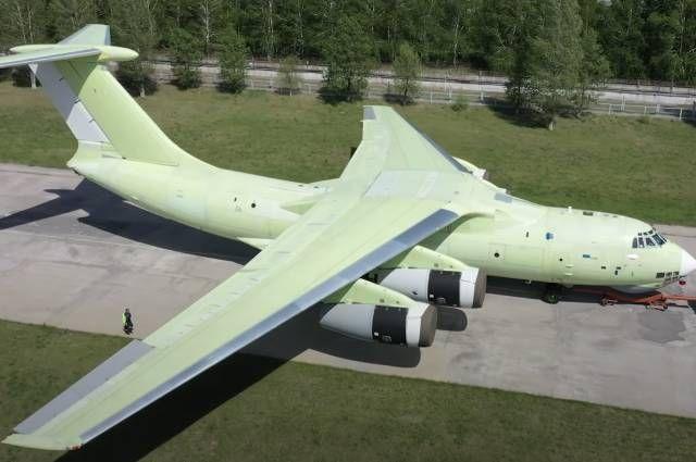 Новая версия Ил-76МД-90А.