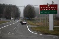 На границе с Беларусью пьяный дальнобойщик сбил шлагбаум в пункте пропуска