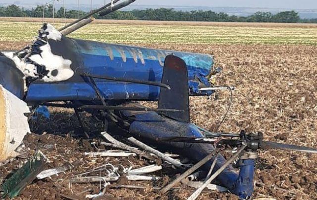 В Николаевской области упал вертолет: есть погибшие