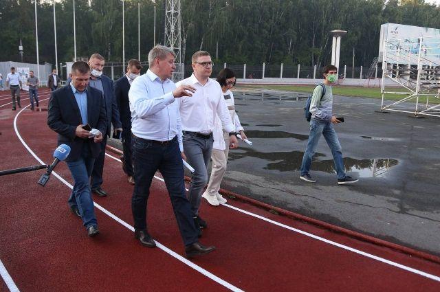 Текслер проверил ход благоустройства в Металлургическом районе Челябинска