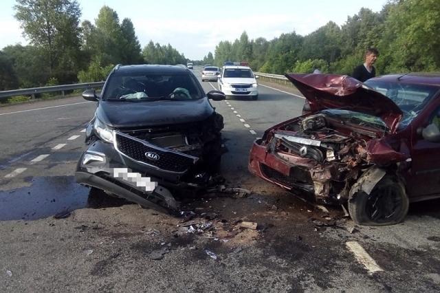 88-летняя пассажирка Renault Logan SR скончалась после ДТП в Башкирии