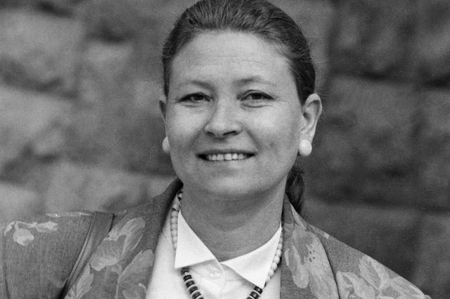 Людмила Зайцева, 1987 г.