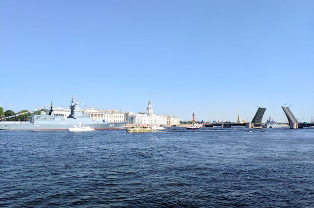 Петербург с нетерпением ждет 25 июля!