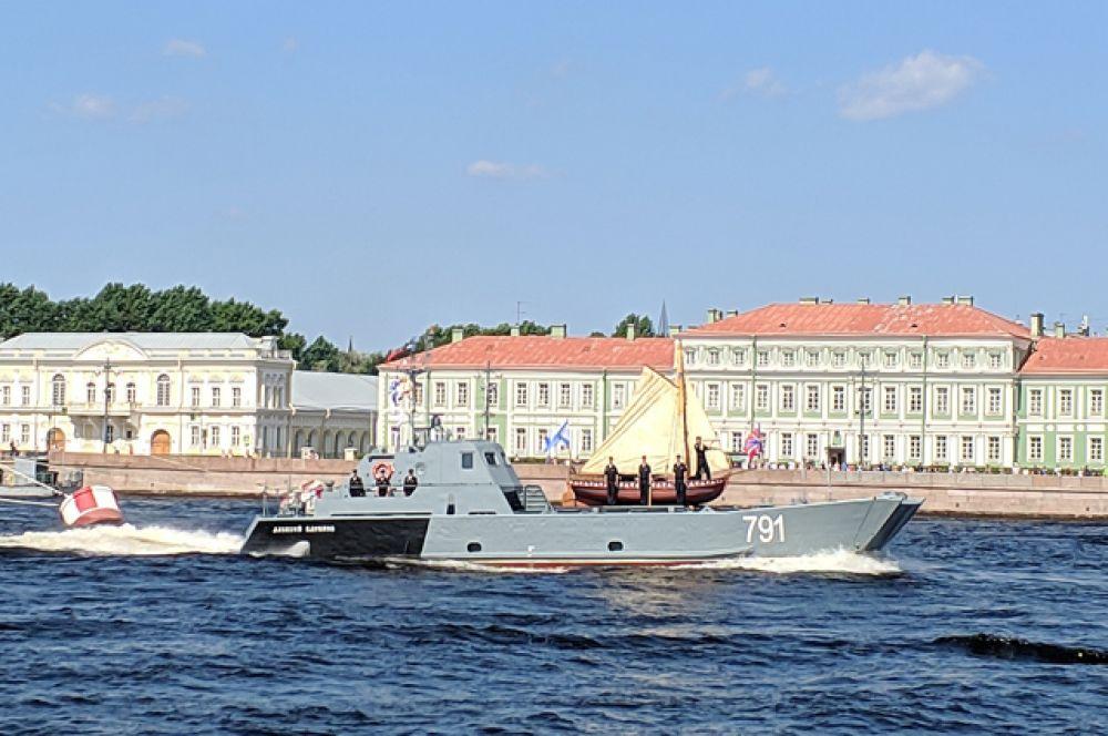 Главный Военно-Морской парад состоится 25 июля 2021 года.
