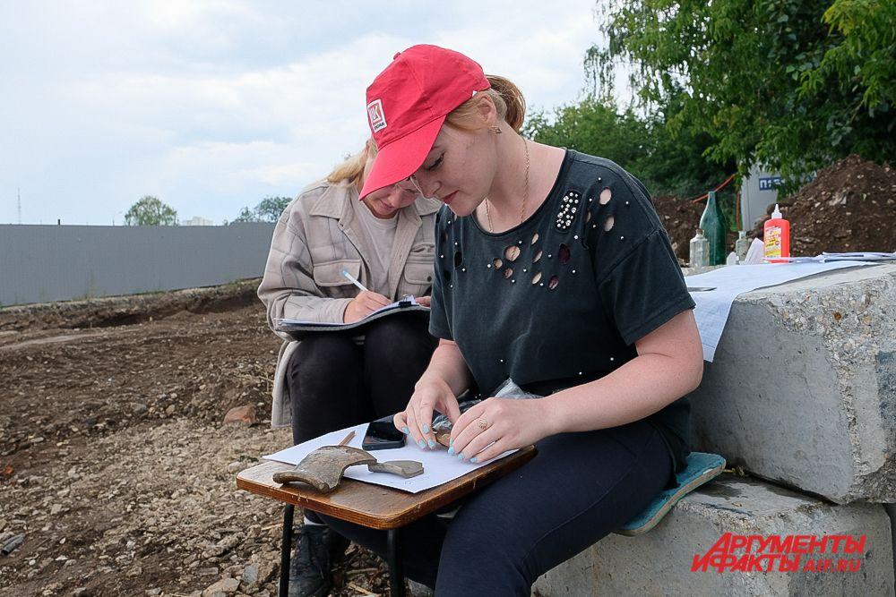 Археологические раскопки в историческом центре Перми.