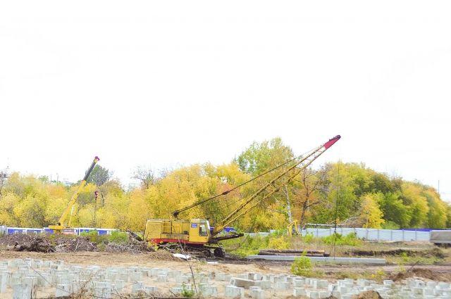 Строительство ТРЦ «Новалэнд» началось еще в 2013 году.