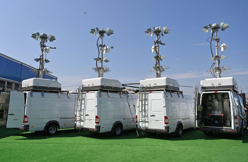 Мобильные комплексы защиты от беспилотников «Сапфир» от компании АО «КРЭТ», представлены на Международном авиационно-космическом салоне МАКС-2021