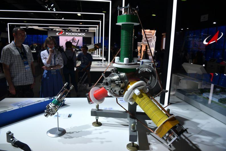 Плазмотрон «Звезда», представленный на выставке Международного авиационно-космического салона МАКС-2021