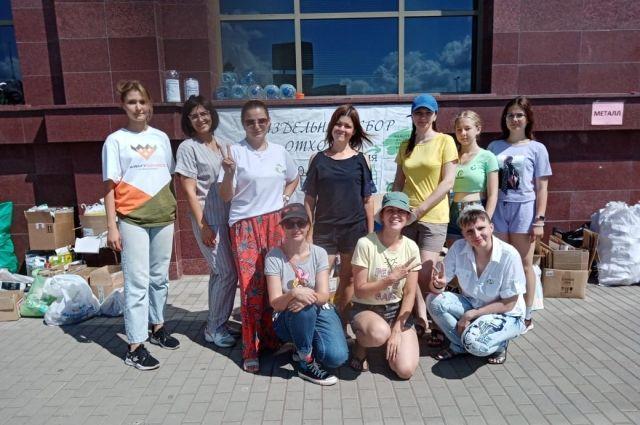 НКНП оказала помощь волонтерам Зеленого патруля в транспортировке 1067 кг отходов для вторичной переработки.