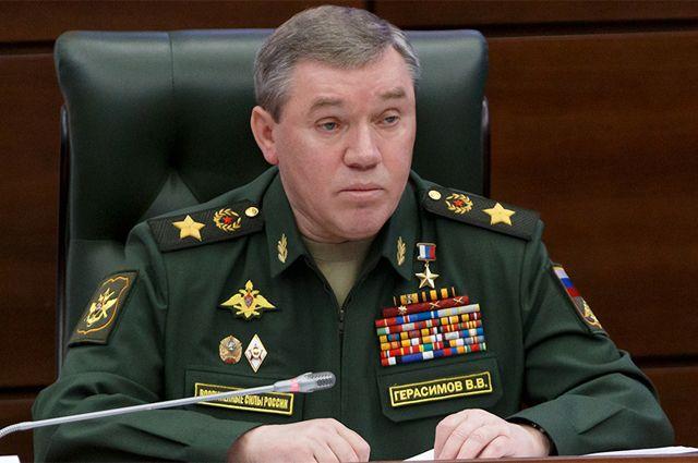 Начальник Генштаба генерал армии Валерий Герасимов.
