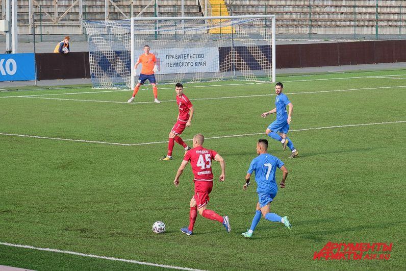 Первый домашний матч ФК «Звезда» сезона 2021-2022 с ФК  «Новосибирск».