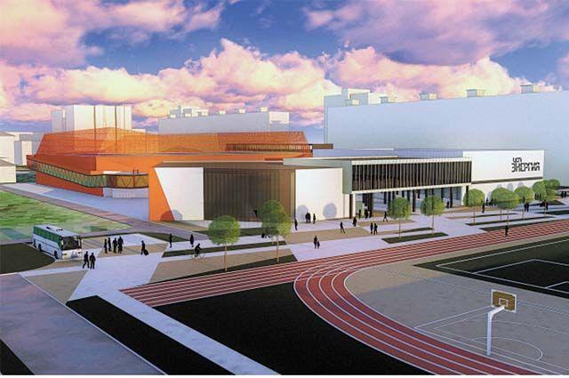 Проект реконструкции стадиона прошёл госэкспертизу.