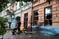 В Днепре в многоэтажном доме произошел взрыв