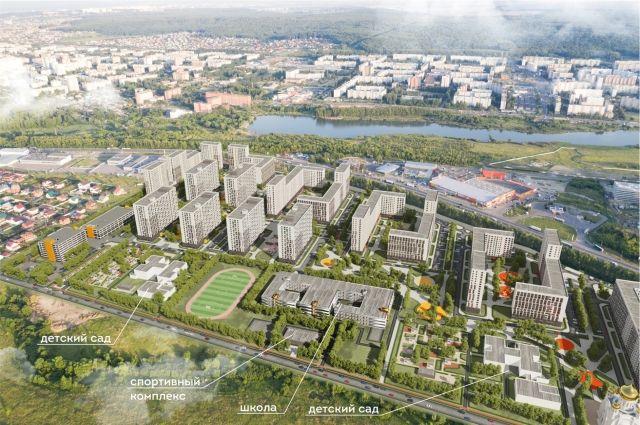 ГК «Территория жизни» входит в ТОП100 застройщиков РФ по объемам возводимого жилья.