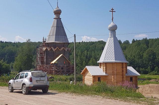 Храм в Согиницах – един- ственный уцелевший образец шатрового типа прионежской школы. Не случайно его называют «ленинградскими Кижами».