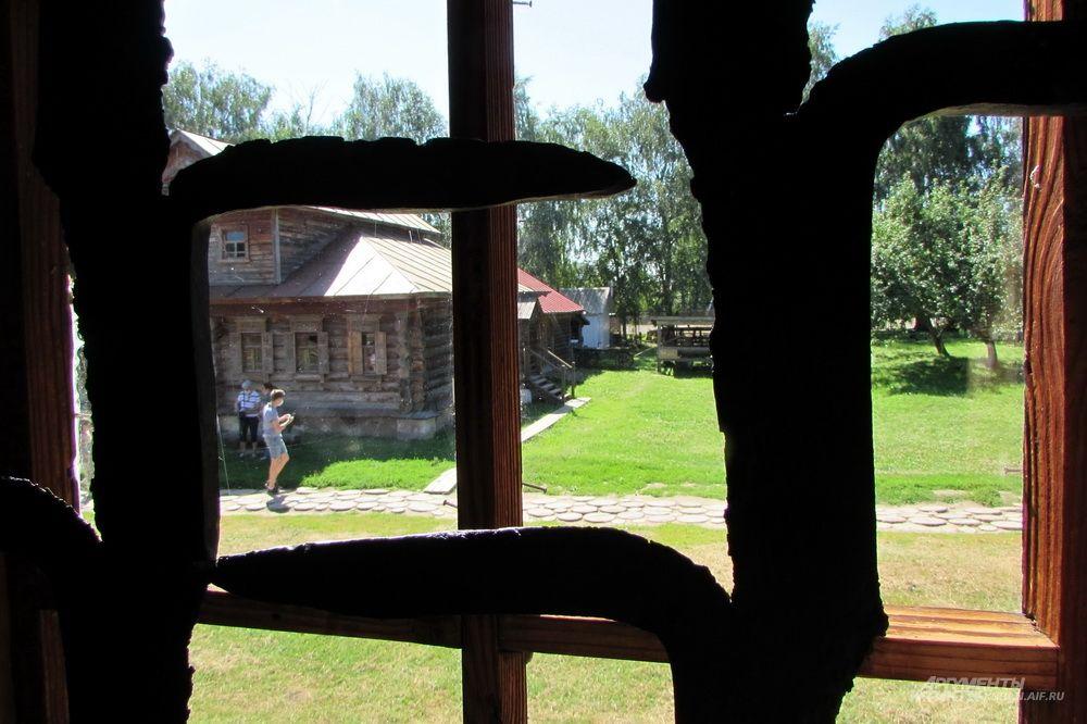 Музей деревянного зодчества в Суздале.