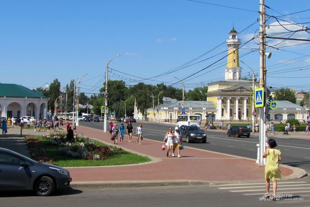 Центр Костромы.
