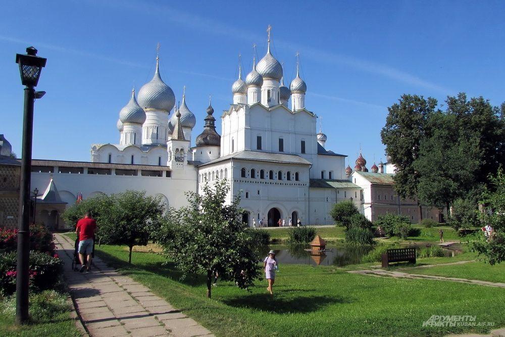 Государственный музей-заповедник «Ростовский кремль».