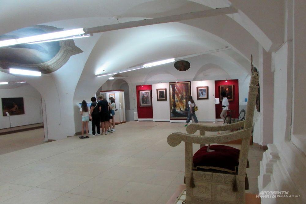 Палаты в Александровской слободе, бывшей резиденции Ивана Грозного.