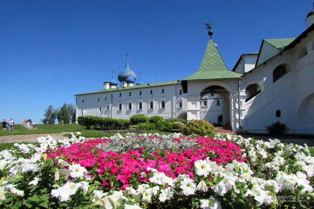 Музейный комплекс «Кремль» в Суздале.