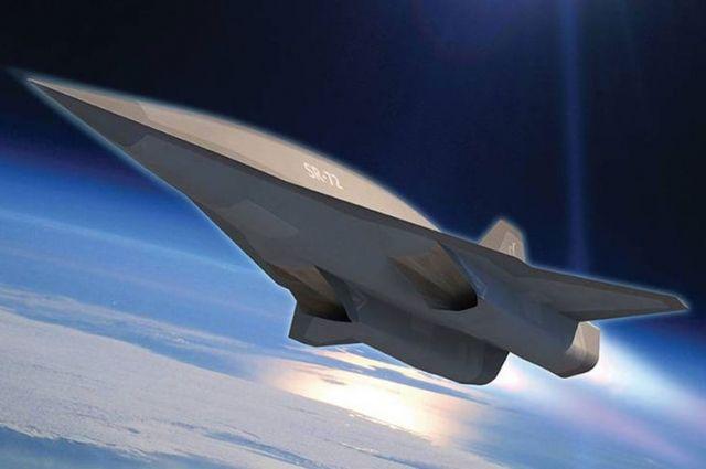 Гиперзвуковой самолет Lockheed Martin Lockheed SR-72 (концепт).