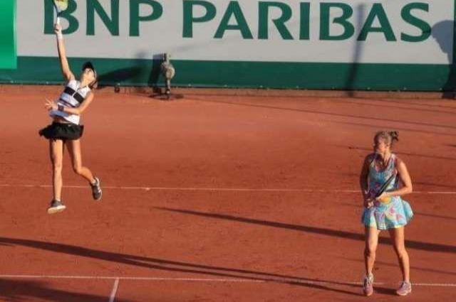 Катерина Бондаренко пробилась в парный полуфинал турнира в Польше.