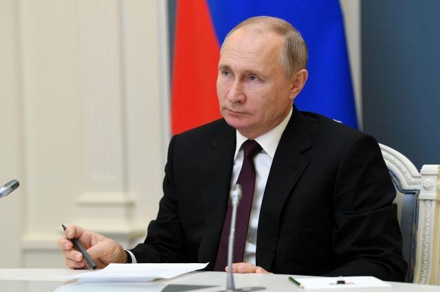 Путин поддержал идею грантов для бизнеса в случае локдауна в регионах