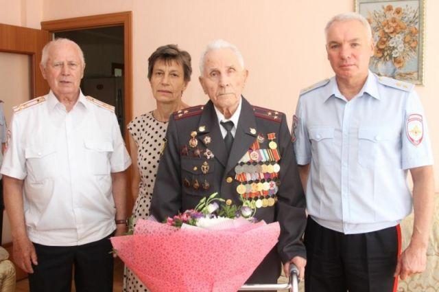 Прокопия Сафонова поздравили с юбилеем
