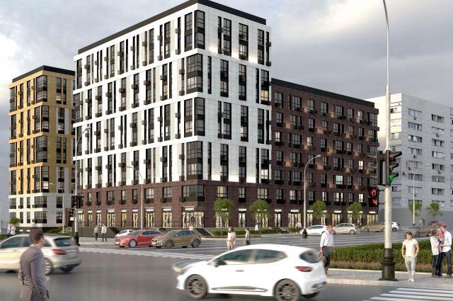 Сбербанк в Оренбуржье профинансировал строительство нового жилого комплекса «Трилогия».