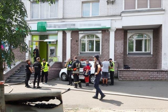 Ограбление банка в Киеве: суд избрал злоумышленнице меру пресечения