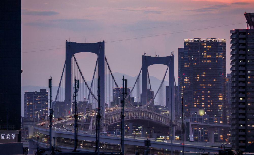 Вид на Радужный мост
