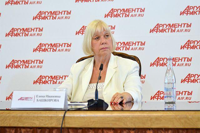Генеральный директор Независимого исследовательского центра «Башкирова и партнеры» Елена Башкирова.