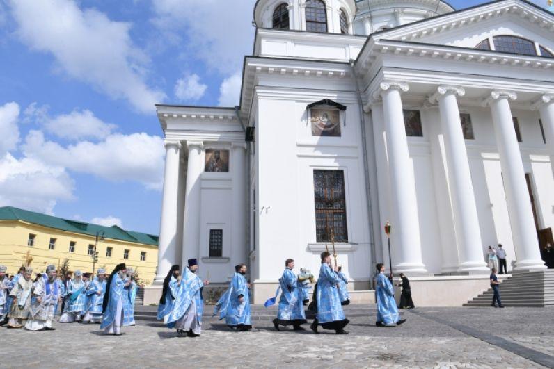 Ватиканский список почитаемой иконы доставили в Богородицкий монастырь.