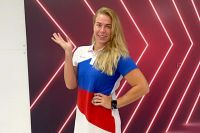 Анна Тимофеева в новой форме олимпийской сборной.