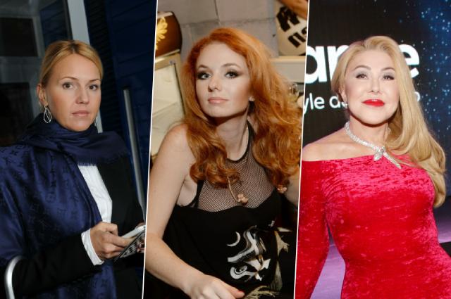 Юлия Бордовских, Лена Катина и Любовь Успенская.