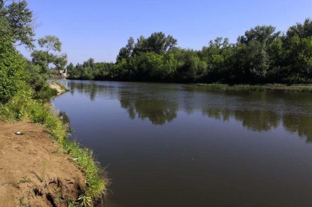 Тело утонувшего из реки Чебенька достали сотрудники полиции.