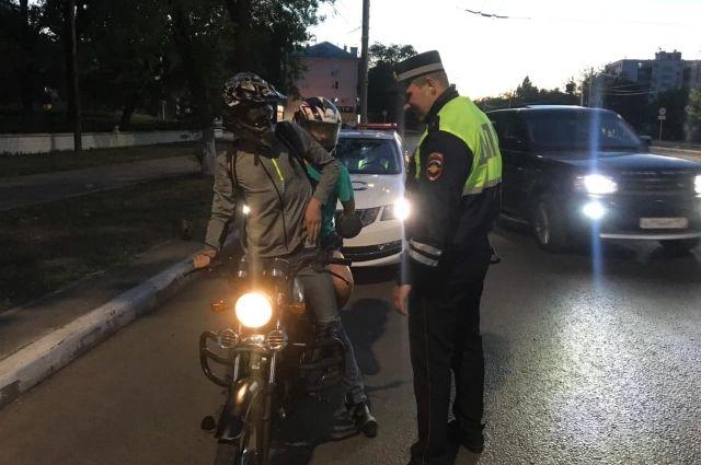 С начала 2021 года на дорогах Оренбурга и Оренбургского района совершено восемь ДТП с участием мотоциклистов.