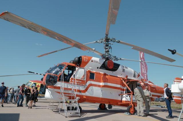 В ряды новинок авиационной отрасли попали и глубокомодернизированные летательные аппараты, такие как многоцелевой вертолёт Ка-32А11М.