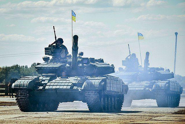 Танк Т-64 ВСУ Украины.