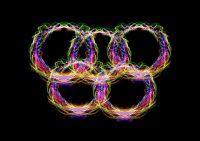 На арену, где прошло открытие Олимпиады, российская команда вышла под номером 77