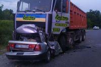 В Полтавской области произошла аварии: погибло четыре человека.