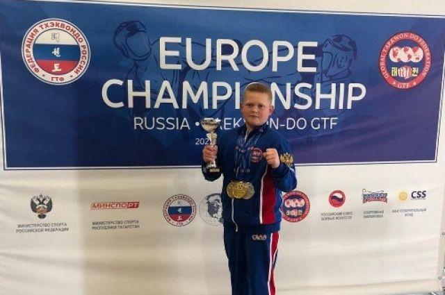 Салехардец стал чемпионом Европы по тхэквондо