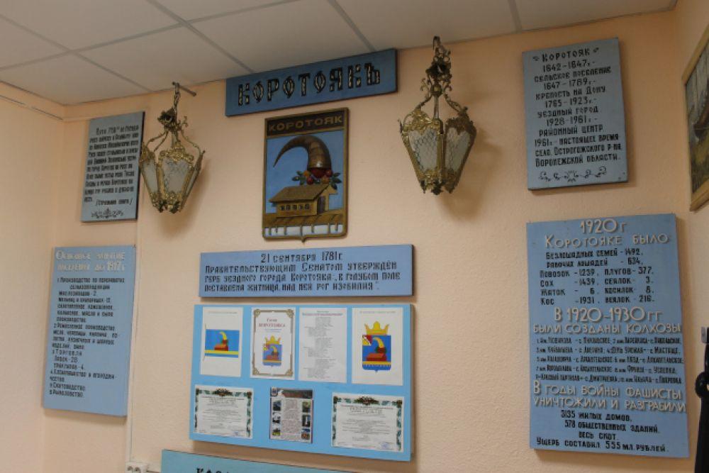 В краеведческом музее села Коротояк