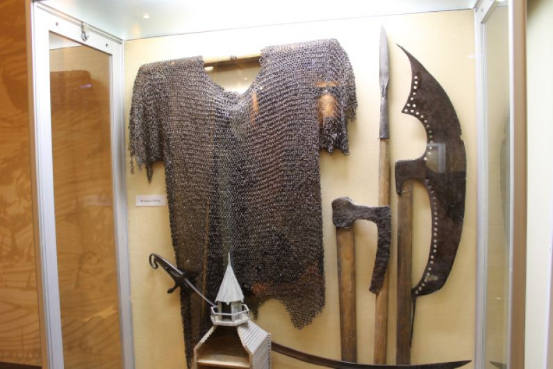 Вооружение воинов времен основания Острогожска
