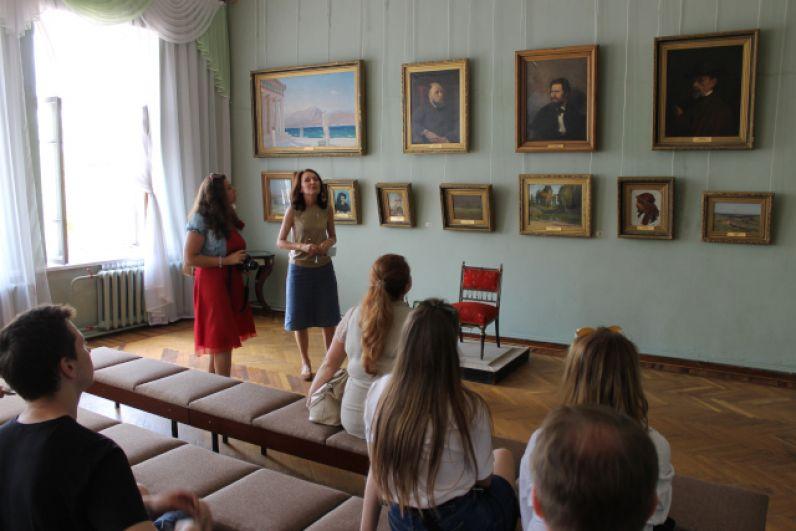 Рассказ о творчестве Ивана Крамского в картинной галерее