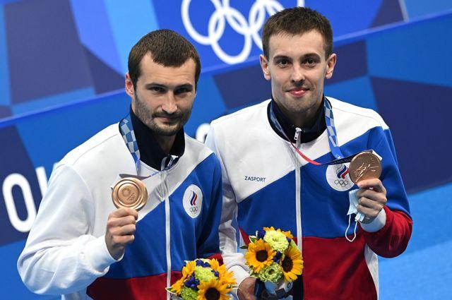 Александр Бондарь (слева) и Виктор Минибаев.