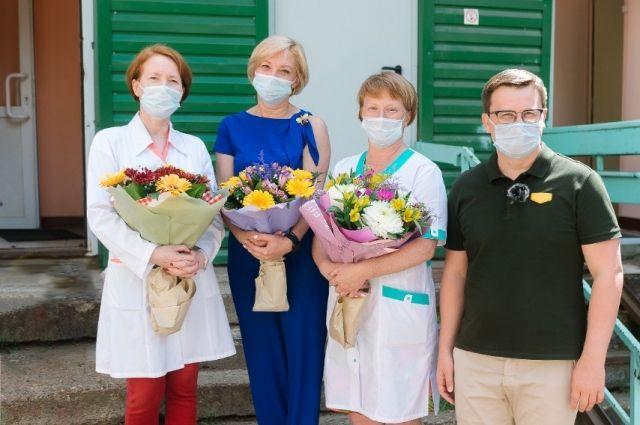 Антон Немкин: «Очень важно, что волонтёры помогают и не обделяют вниманием как врачей, и так пациентов».