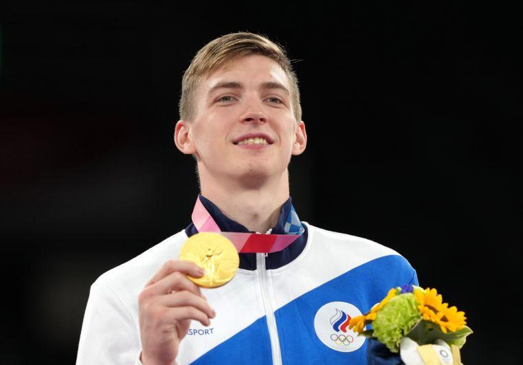 Тхэквондист Максим Храмцов завоевал золотую медаль на олимпийском турнире в Токио в весовой категории до 80 кг